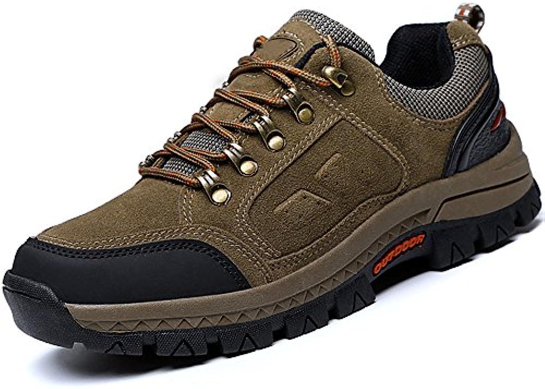 Herren Wanderschuhe Outdoor Sportschuhe Ankle Boot Lace up All Season Schuhe Schuhe   Fuumlr Trekking  Gym  Running