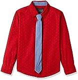 #4: Cherokee Boys' Plain Regular Fit Cotton Shirt