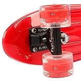 FunTomia Mini-Board Cruiser Skateboard mit 70/65mm Big Wheel Rollen inkl. MACH1® ABEC-11 Kugellager - 3