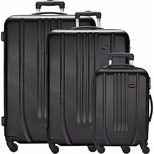 NOWI Luggage Set, schwarz (Schwarz) - 2078287