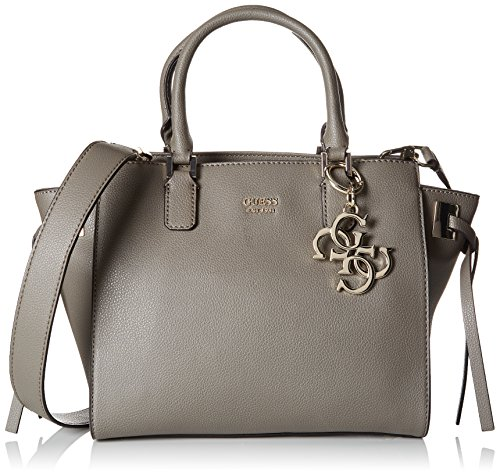 Guess Damen Bags Hobo Shopper, Grau (Fog), 15.5x23.5x36 centimeters (Taschen Guess Hobo)