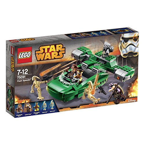 LEGO - 75091 - Star Wars - Jeu de Construction - Flash Speeder