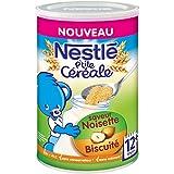 Nestlé P'tite Céréale Saveur Noisette Biscuité Dès 12 Mois 400 g -