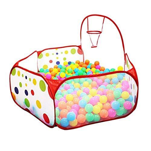 Ballylelly Tupfenmuster Faltbare Baby Kinder Spielhaus Zelt Basketball Zelt Kinder Outdoor & Indoor Sport Spielen Spielzeug