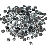 Pack of 1000 x Crystal Flat Back Rhinestone Diamante Gems 3mm
