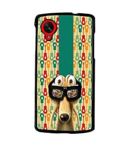 PrintDhaba Scrat D-5085 Back Case Cover for LG GOOGLE NEXUS 5 (Multi-Coloured)