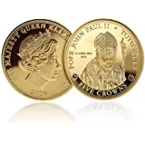 The Pope John Paul II Canonisation Five Crown Coin