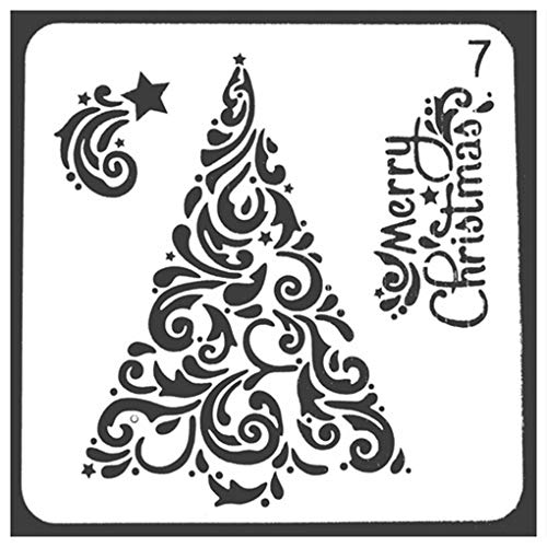 Aiming DIY Wandmalerei Mold Album Stamp Stencil Foto Scrapbooking Spray Craft Hohle-heraus Papier-Schablone