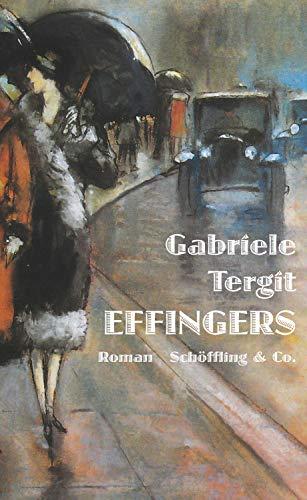 Buchseite und Rezensionen zu 'Effingers: Roman' von Gabriele Tergit