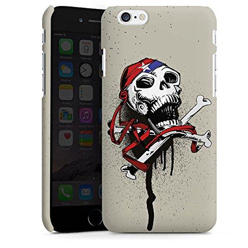 Apple iPhone X Silikon Hülle Case Schutzhülle Pirat Tod Totenkopf Premium Case matt