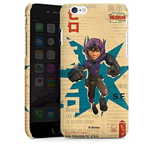 Apple iPhone X Silikon Hülle Case Schutzhülle Disney Hiro und Baymax Merchandise Zubehör Premium Case matt