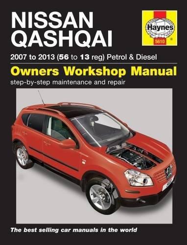 Nissan Qashqai Petrol & Diesel (07 - 13) 56 To 13 (Service & repair manuals) por Peter T. Gill