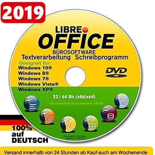 Libre OFFICE PREMIUM für WINDOWS Betriebssystem 10+8+8.1+7+Vista+XP Schreibprogramm Textverarbeitung Tabellenkalkulation NEUWARE (Windows 8-textverarbeitung)