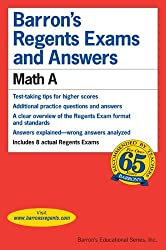 Math A (Barron's Regents Exams and Answers Math a) by Lawrence S. Leff (2005-03-01)