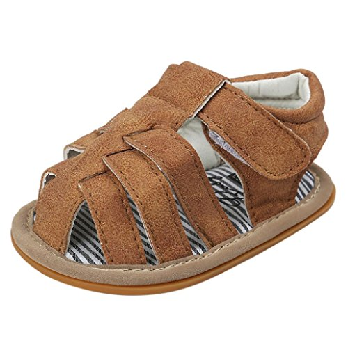 18Monate锟� Longra Khaki Rutsch Baby Sandalen jungen Schuh Freizeitschuhe Anti Babyschuhe Kleinkind krabbelschuhe锟� Sneaker Sohle weiche pw6qxOx