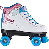 Roces Chuck Classic Roller - Patines de ruedas unisex, color rosa blanco, talla 35