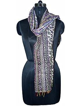 Pañuelo de seda hechas a mano un pañuelo