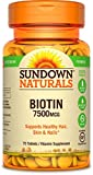 Super Strength Biotin, 7500 mcg, 75 Tabletten - Rexall Sundown Naturals