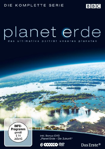 Planet Erde - Die komplette Serie (6 DVDs inkl. Bonus-Disc, Softbox)