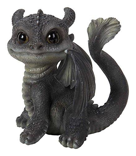 Vivid Arts Fan Schwanz dragon grau/rot (Größe D)
