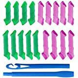 SHAFIRE™ 18 pcs rollers + 2pcs Hooks DIY Magic Hair Curler High Speed Changing Magic Leverag Hair Curler & Perm