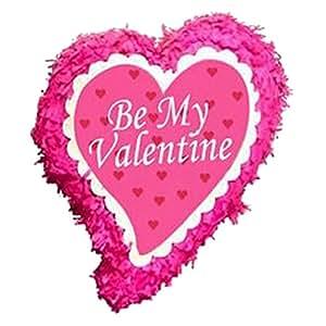 Be My Valentine Pinata en forme de cœur