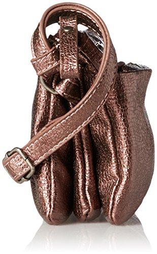 Tamaris - Franca Crossbody Bag S, Borse a tracolla Donna Rosso (Vino)