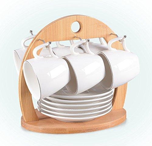 Tassen Set 13-teilig für Espresso bzw. Mokka. Kompaktes Set bestehend aus 6 Tassen (80ml) mit...