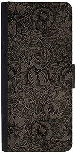Snoogg Vintage Flower Art Designer Protective Phone Flip Case Cover For One Plus X