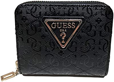 Guess Astrid SLG Small Zip Around Black