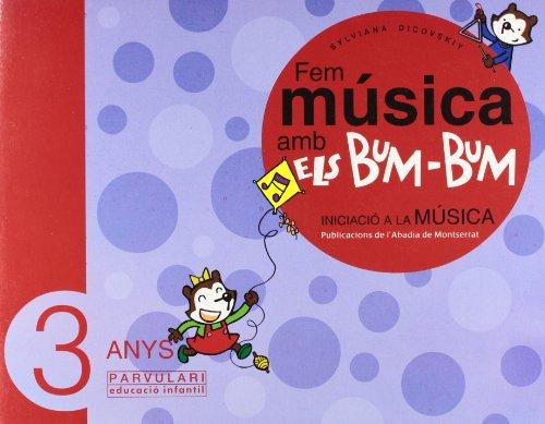 Fem música amb els Bum-Bum. Educació Infantil. Parvulari 3 anys. Alumne