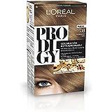 L'Oréal Paris Prodigy Coloración Permanente sin Amoniaco, Tono 7.0 Rubio Almendra - 180 g