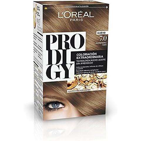 Coloración Sin Amoniaco Prodigy 7.0 Rubio Almendra de L'Oréal Paris