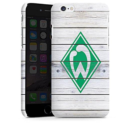 Apple iPhone 5s Silikon Hülle Case Schutzhülle Werder Bremen Holzplanken Fanartikel Premium Case matt