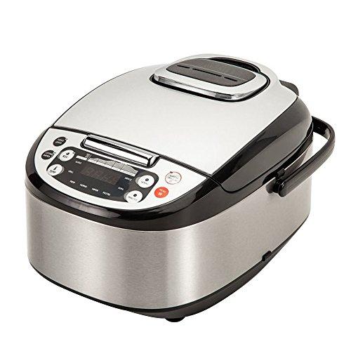 Robot de cocina inteligente con capacidad 5 L. sistema de calentamiento 3D tridimensional que calienta homogéneamente y dispone de 8 funciones para cocinar todo tipo de recetas