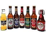 Kölsch 7er Bier Set - Sion 0,25L (4,8% Vol.) + Zunft (4,8% Vol.) + Gaffel (4,8% Vol) + Früh (4,8% Vol.) + Gilden (4,8% Vol.) + Reissdorf (4,8% Vol.) + Peters (4,8% Vol) - je 0,33L (bis auf Sion)