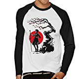 Nier Automata 2B Under The Sun Men's Baseball Long Sleeved T-Shirt