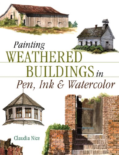 Painting Weathered Buildings in Pen, Ink and Watercolour (Artist's Photo Reference S.)