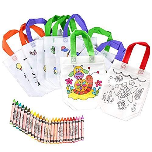 Bolsas Colorear 12 Pcs Diferentes Diseño 24 Pasteles