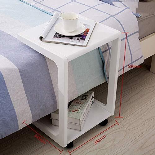 FENGFAN Designer Beistell Tische Kiefer Holz Mobile Cart Laptop Bettwäsche Sofa Side Bedside 34.5 * 39 * 58 cm (Farbe : B) -