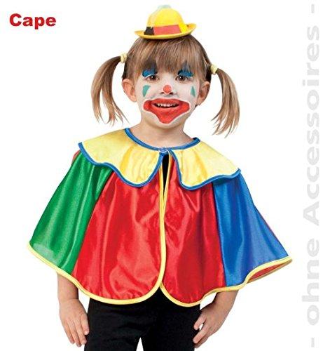 Clown Kleinkinder Kostüme Für (Cape Clown 98 Baby Kleinkind Kinder -)