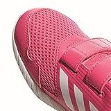 adidas Unisex-Kinder AltaRun Cloudfoam Laufschuhe, Pink (Reapnk/Ftwwht/Vivber), 35.5 EU