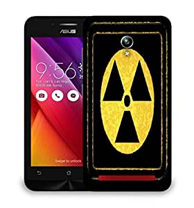 Snoogg radioactivity Designer Protective Back Case Cover For Asus Zenfone GO