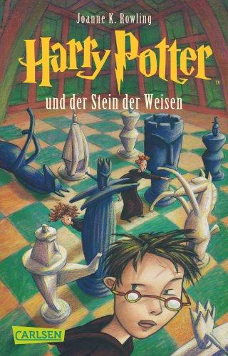 Buchseite und Rezensionen zu 'Harry Potter und der Stein der Weisen' von Joanne K. Rowling