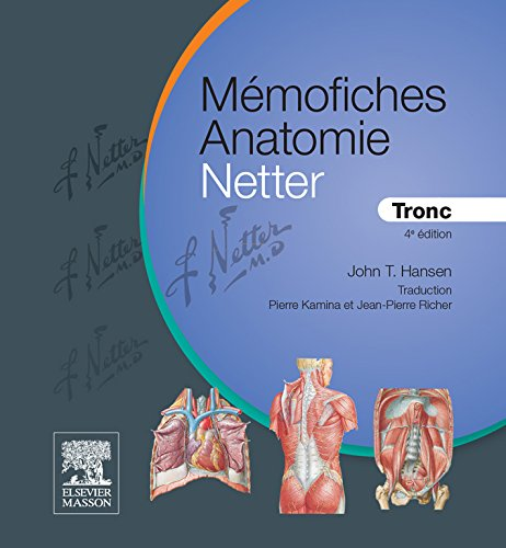 Mmofiches Anatomie Netter - Tronc