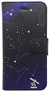 Apple iPhone 6 Coque Constellation Bleu nbi6-prm/unv-bl-003