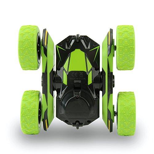 Rimila Auto telecomandata ,4WD Macchina Telecomandata Stunt Car,2.4GHZ Telecomando Macchina Acrzaic Rotazione di 360 Gradi(Non comprese Le batterie)