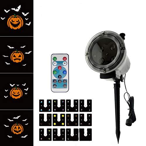 ation Film Highlight Projektor Lampe Weihnachten Halloween Dekoration Outdoor Rasen Lampe ()