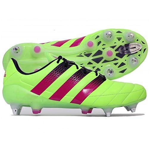 release date 5e4c2 acfdb adidas Ace 16.1 SG Leather Scarpe da Calcio Uomo