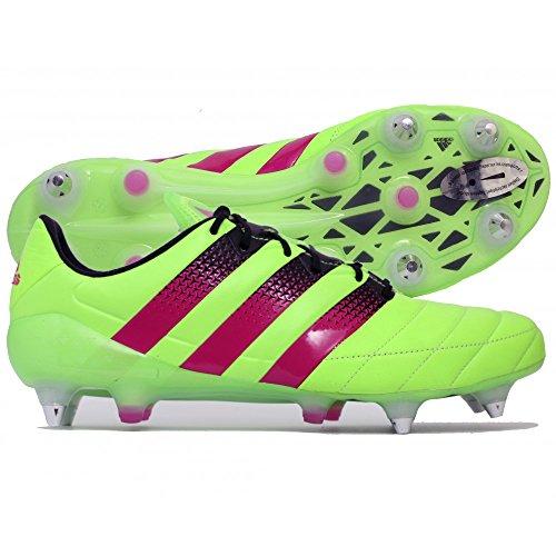 adidas Ace 16.1 SG Leather Scarpe da Calcio Uomo ... 53e553735ce